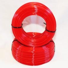 PET-G - красный матированный - бухта