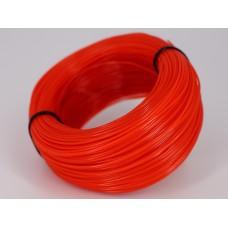 NYLON.htp - оранжевый прозрачный - бухта 0,4