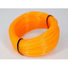 NYLON.htp - оранжевый-2 прозрачный - бухта 0,2