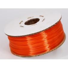 PET-G - оранжевый прозрачный - Гофро-Катушка