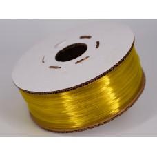 PET-G - жёлтый-2 прозрачный - Гофро-Катушка
