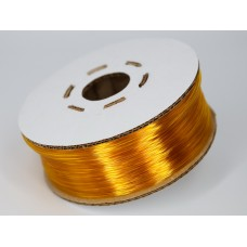 PET-G - жёлто-оранжевый прозрачный - Гофро-Катушка