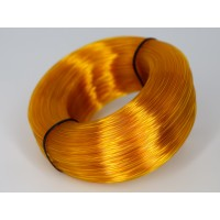 PET-G - жёлто-оранжевый прозрачный - бухта - вторичный