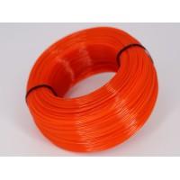 PET-G - оранжевый прозрачный - бухта - вторичный