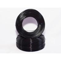 PLA - чёрный матированный - бухта - 0,25