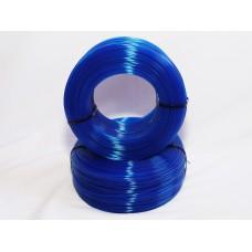 PLA - синий прозрачный - бухта