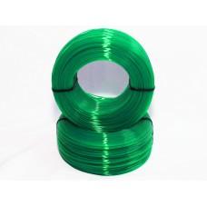 PLA - зелёный прозрачный - бухта