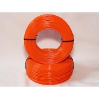 PLA - оранжевый матированный - бухта