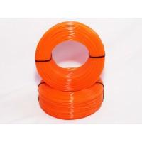 PLA - оранжевый прозрачный - бухта