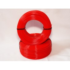 PLA - красный матированный - бухта