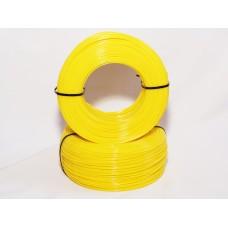 PLA - жёлтый матированный - бухта