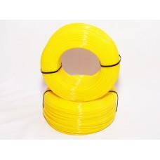 PLA - жёлтый прозрачный - бухта
