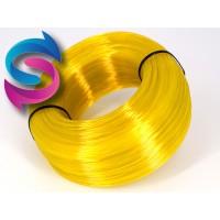 PET-G - жёлтый прозрачный - бухта - вторичный