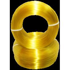 PET-G - жёлтый прозрачный - бухта
